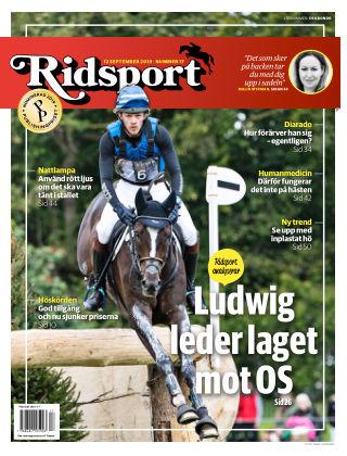 Ridsport 2019-09-12