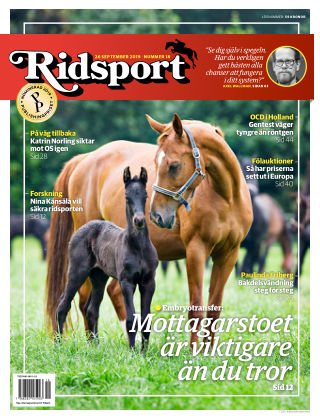 Ridsport 2019-09-26