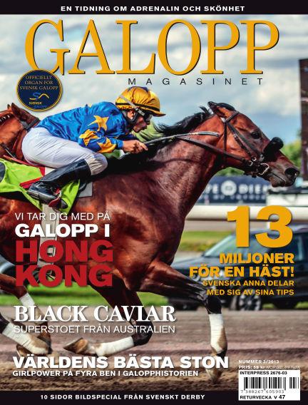 Galoppmagasinet (Inga nya utgåvor) September 17, 2013 00:00