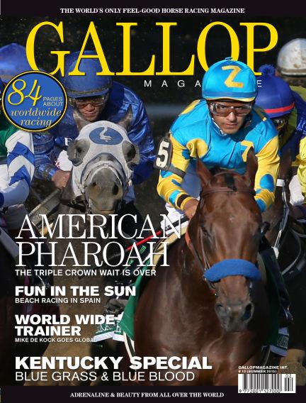 Gallop Magazine (Inga nya utgåvor) July 05, 2015 00:00