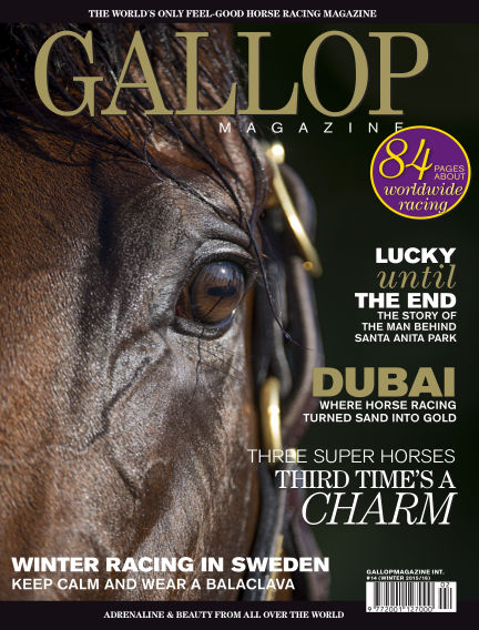 Gallop Magazine (Inga nya utgåvor) December 13, 2015 00:00