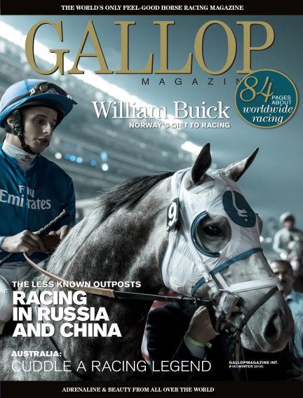 Gallop Magazine (Inga nya utgåvor) December 12, 2016 00:00