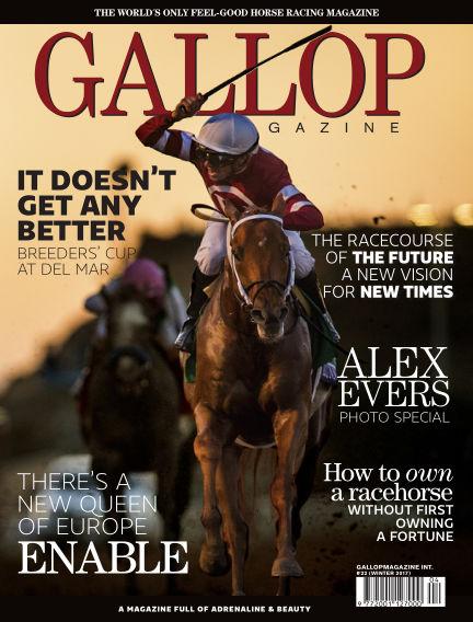Gallop Magazine (Inga nya utgåvor) December 21, 2017 00:00