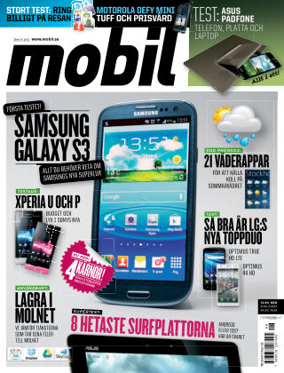 Mobil Sverige 2012-06-07