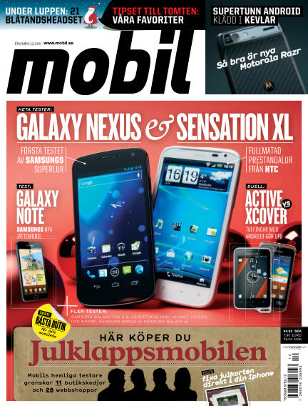 Mobil Sverige December 06, 2011 00:00