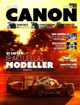 Allt om Canon 2015-11-03