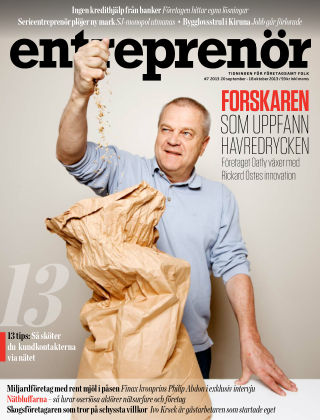 Entreprenör 2013-09-20