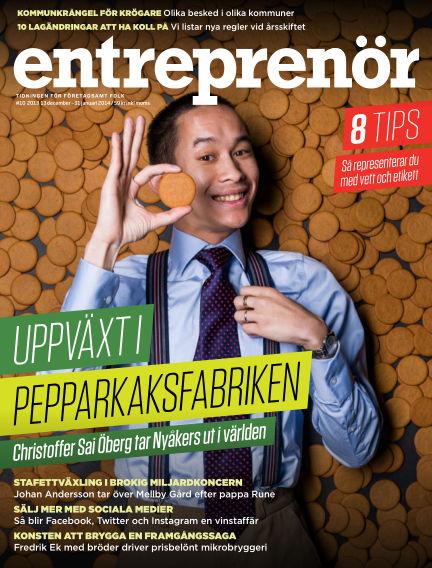 Entreprenör (Inga nya utgåvor) December 13, 2013 00:00