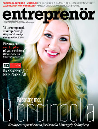 Entreprenör 2014-09-29