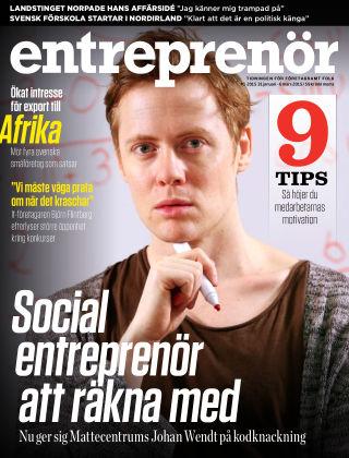 Entreprenör 2015-01-30