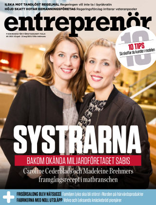 Entreprenör 2015-04-13