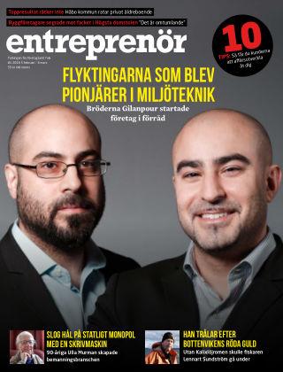 Entreprenör 2016-02-05