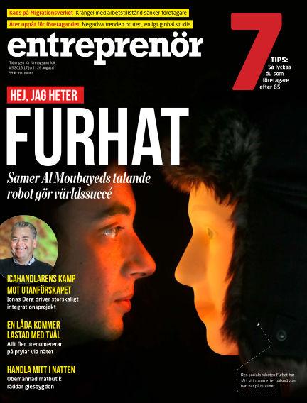 Entreprenör (Inga nya utgåvor) June 17, 2016 00:00