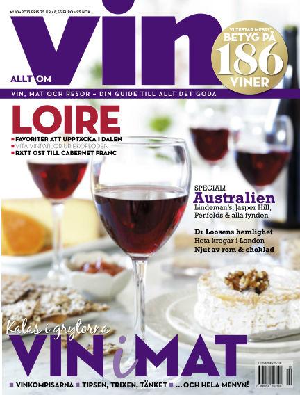 Allt om vin October 31, 2013 00:00
