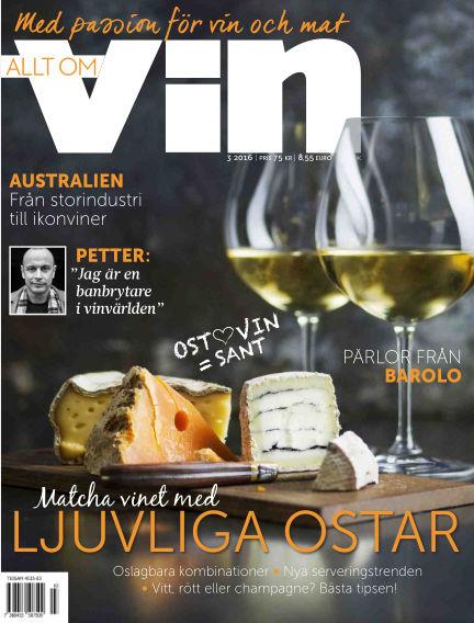 Allt om vin February 25, 2016 00:00