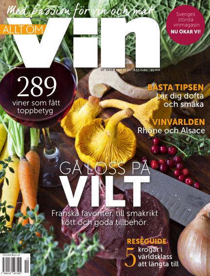 Allt om vin October 27, 2016 00:00
