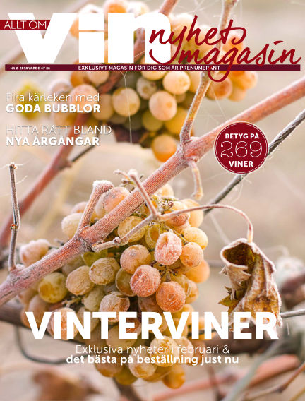 Allt om vin January 25, 2018 00:00