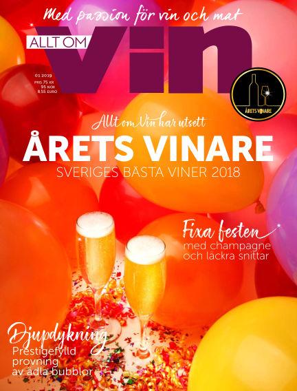 Allt om vin December 10, 2018 00:00