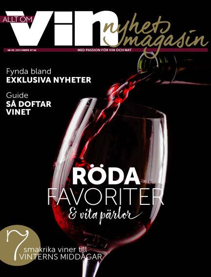 Allt om vin January 25, 2019 00:00