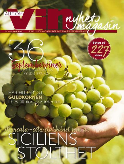 Allt om vin August 30, 2019 00:00