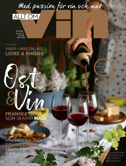 Allt om vin October 24, 2019 00:00