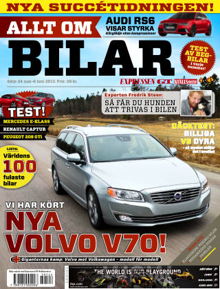 Allt om Bilar (Inga nya utgåvor) 2013-05-24