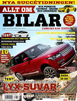 Allt om Bilar (Inga nya utgåvor) 2013-03-15