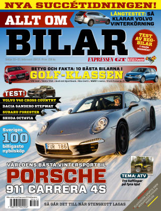 Allt om Bilar (Inga nya utgåvor) 2013-02-15
