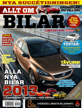 Allt om Bilar (Inga nya utgåvor) 2013-01-18