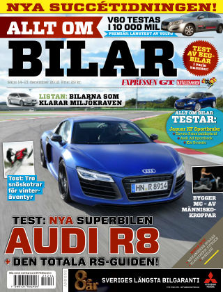Allt om Bilar (Inga nya utgåvor) 2012-12-14