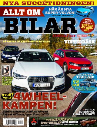 Allt om Bilar (Inga nya utgåvor) 2012-11-09