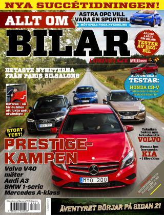 Allt om Bilar (Inga nya utgåvor) 2012-10-12