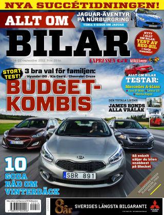 Allt om Bilar (Inga nya utgåvor) 2012-09-14