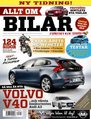 Allt om Bilar (Inga nya utgåvor) 2012-04-13