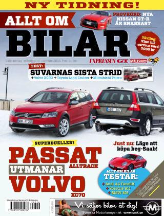 Allt om Bilar (Inga nya utgåvor) 2012-03-16