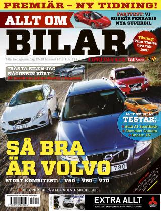 Allt om Bilar (Inga nya utgåvor) 2012-02-17