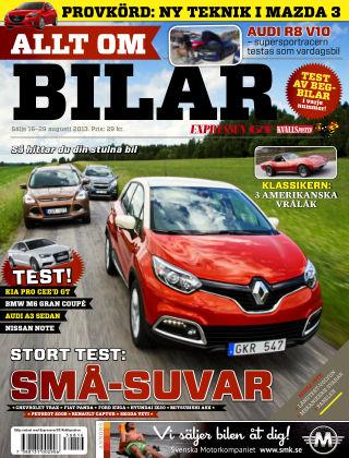 Allt om Bilar (Inga nya utgåvor) 2013-08-16