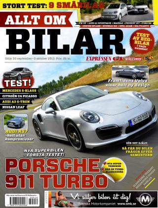 Allt om Bilar (Inga nya utgåvor) 2013-09-20