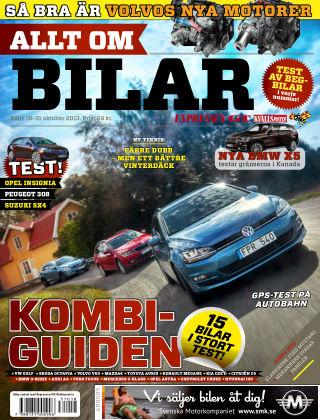 Allt om Bilar (Inga nya utgåvor) 2013-10-18