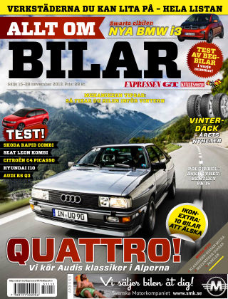 Allt om Bilar (Inga nya utgåvor) 2013-11-15