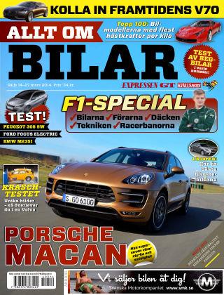 Allt om Bilar (Inga nya utgåvor) 2014-03-14