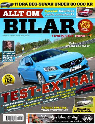 Allt om Bilar (Inga nya utgåvor) 2014-05-09