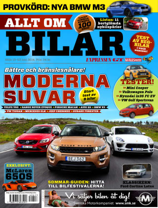 Allt om Bilar (Inga nya utgåvor) 2014-06-13