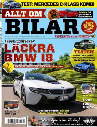 Allt om Bilar (Inga nya utgåvor) 2014-08-12