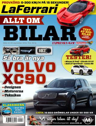 Allt om Bilar (Inga nya utgåvor) 2014-09-12