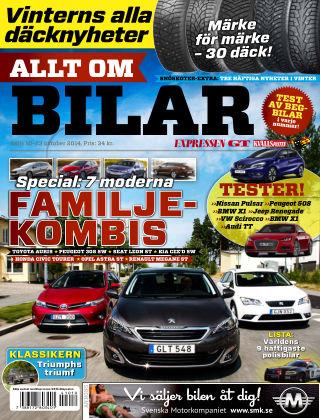 Allt om Bilar (Inga nya utgåvor) 2014-10-10