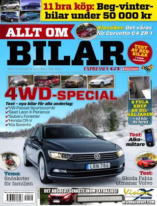 Allt om Bilar (Inga nya utgåvor) 2015-02-18