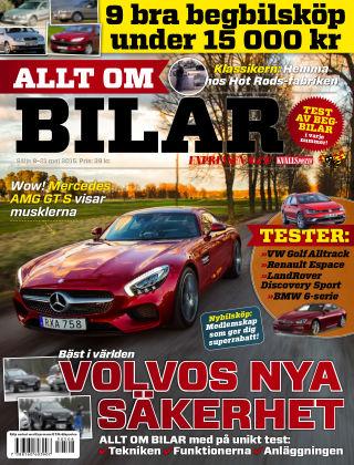 Allt om Bilar (Inga nya utgåvor) 2015-05-08