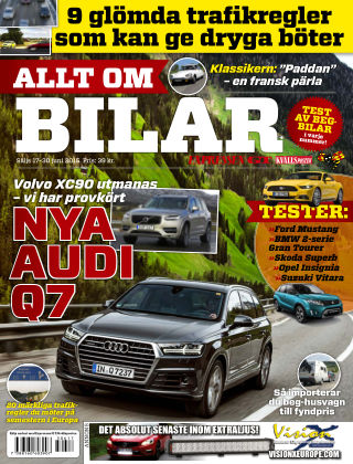 Allt om Bilar (Inga nya utgåvor) 2015-06-17