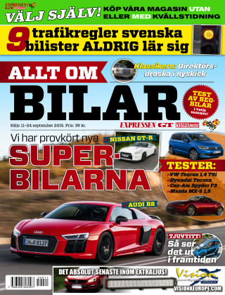 Allt om Bilar (Inga nya utgåvor) 2015-09-11